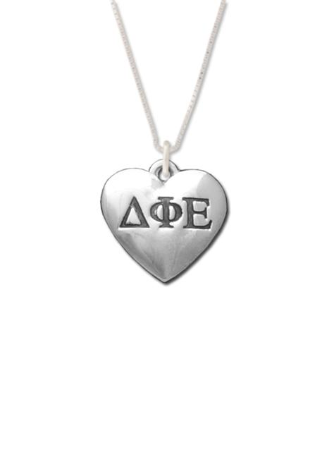 DPhiE Designs Gifts - Heart Letters Necklace